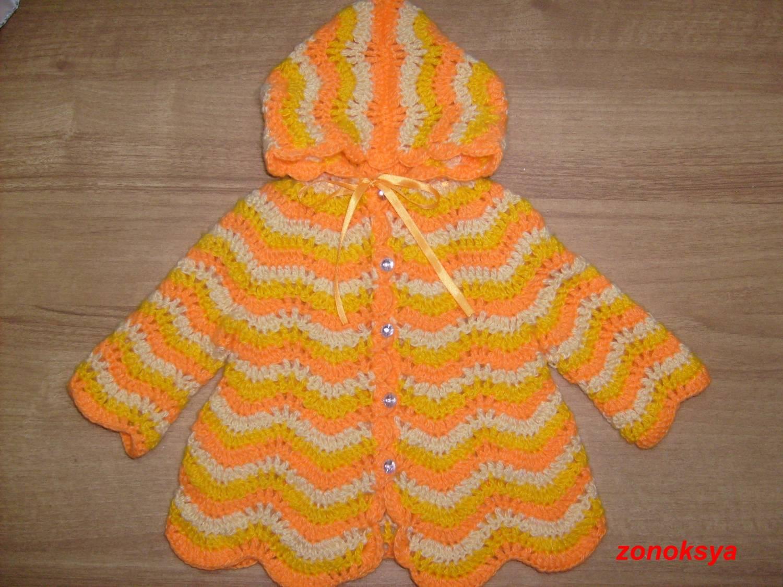 Вязание кофты на 3 годика